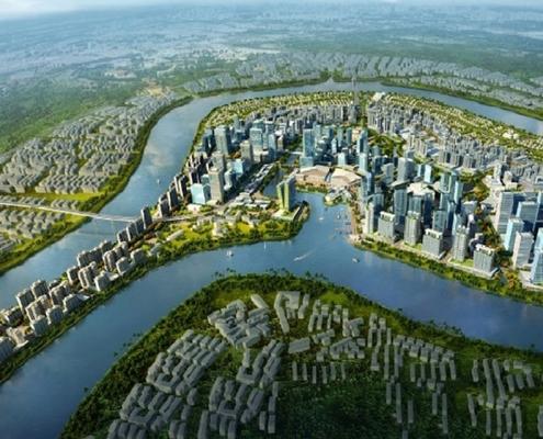 Bán đảo Thanh Đa trong tương lai
