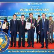 Thảo Điền Investment vinh danh nhận giải thưởng dự án bất động sản hấp dẫn nhất Việt Nam năm 2016